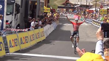 Magyar biciklista nyerte a fiatalok Tourjának szombati szakaszát