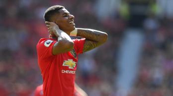 Pogba után Rashford is büntetőt hibázott, kikapott a United