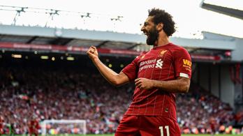 Szalah duplázott, a Liverpool az Arsenalt is legyűrte