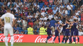 Első hazai meccsén rögtön elszórakozott két pontot a Real