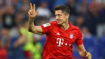 Lewandowski mesterhármasa biztosította be a Bayern első idei győzelmét