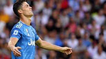 Ronaldótól elvettek egy gólt, de így is nyert a Juventus