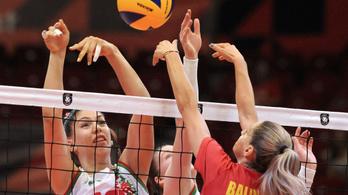Sokat hibázva kaptak ki a magyar röplabdás nők a románok ellen