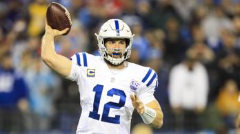 Visszavonulással sokkolt az NFL-sztárirányító, Andrew Luck