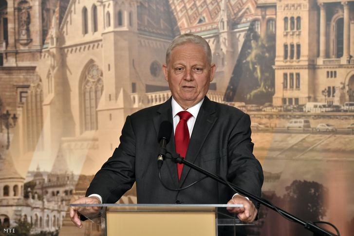 Tarlós István főpolgármester 2019. augusztus 1-jén.