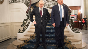 Trump szerint Johnson a megfelelő ember a Brexit végrehajtására
