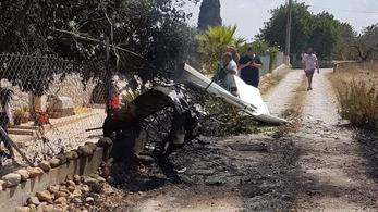 Heten meghaltak Mallorcán, miután összeütközött egy helikopter és egy kisrepülő