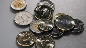 Újabb mélyponton járt a forint árfolyama