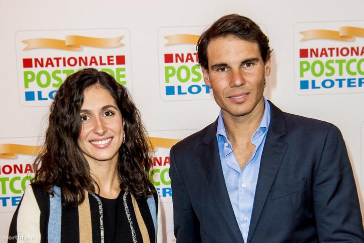 Rafael Nadal és Xisca Perello Amszterdamban 2018. február 15-én