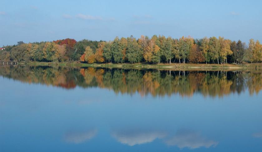 gébárti-tó ősszel