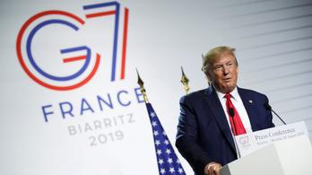 Trump saját golfpályájára vinné a G7-csúcsot