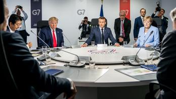 Rövid nyilatkozatban kiálltak a G7 vezetői Hongkong autonómiájáért