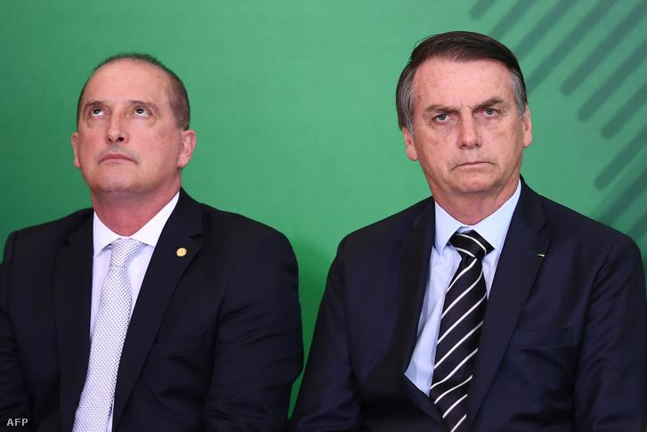 Onyx Lorenzoni és Jair Bolsonaro