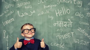 Így tanulnak nyelvet a gyerekek