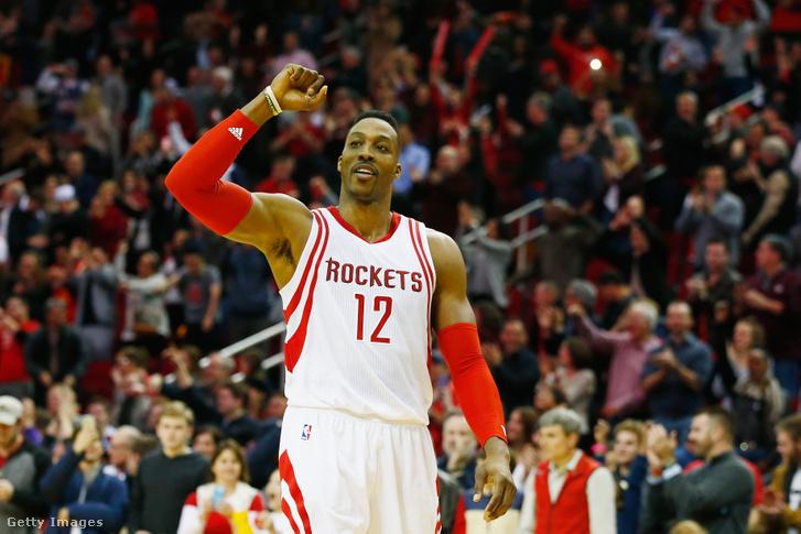 Dwight Howard a Houston Rockets játékosaként 2016-ban.