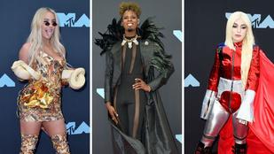 11+1 szett a VMA vörös szőnyegéről, amit képtelenség megmagyarázni