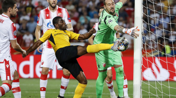 A Fradit kiejtő Dinamo BL-csoportkörös, a Portót kiverő Krasznodar kiesett