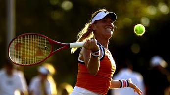 US Open: Babos a második körben, Wimbledon 15 éves sztárját kapja