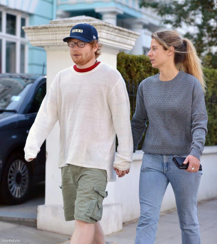 Ed Sheeran és felesége, Cherry Seaborn