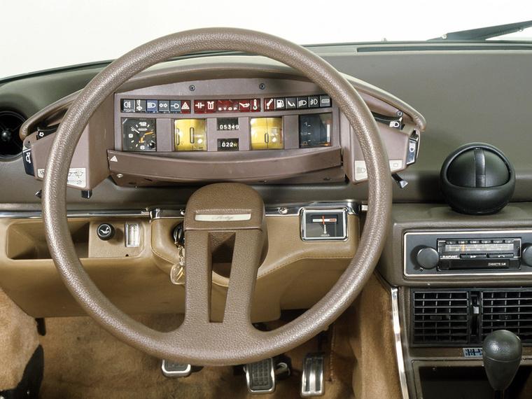 Mire 1975-re meglett a CX, a Citroen már mindent nagyító alá pakolt és nyakon öntött pár liter barna festékkel