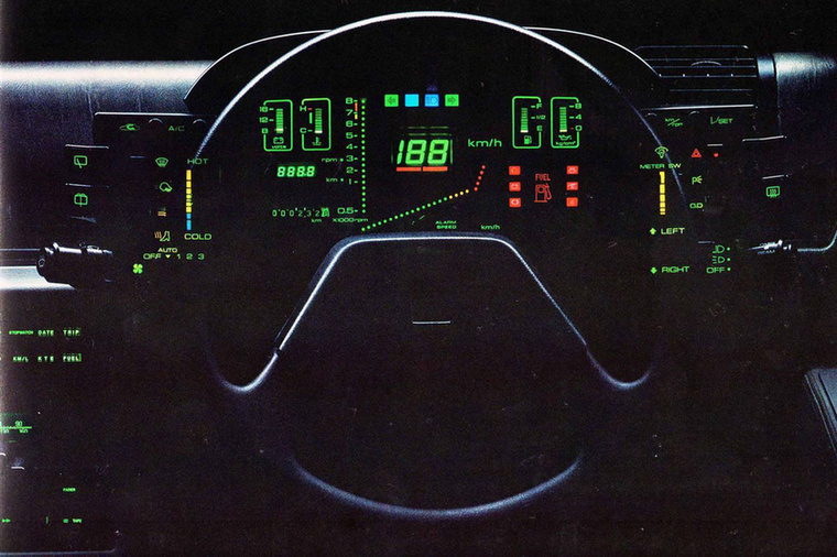 Nyolcvanas évek, home computer, elcédé, hideg fluoreszcens kijelzők, kvarcórák, bemutatják a Tron c