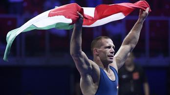 Visszavonul Bácsi Péter világ- és Európa-bajnok birkózó