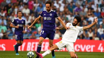 A Real Madridnak sérülések miatt eltűnt a középpályája