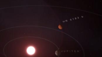 Óriási exobolygót fedeztek fel