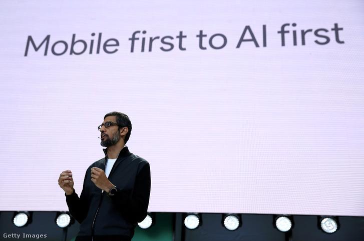 Sundar Pichai a Google Inc. vezérigazgatója