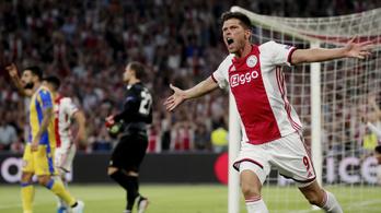 Futball-BL-ben az Ajax, itt a teljes mezőny