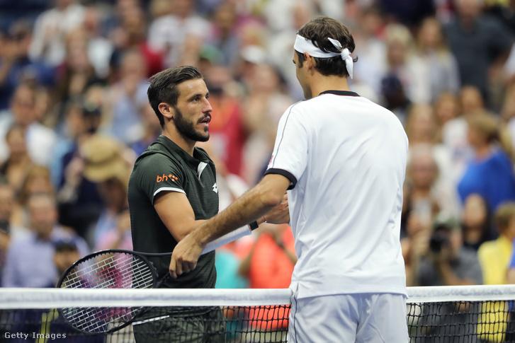 Dzumhur és Federer