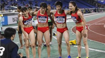 Férfias külseje miatt támadnak két kínai futónőt