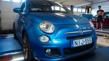 Totalcar Erőmérő: Fiat 500 Twinair