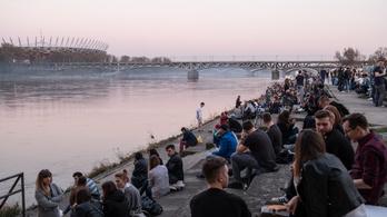 A Visztula folyóba vezetik Varsó és környéke szennyvizét
