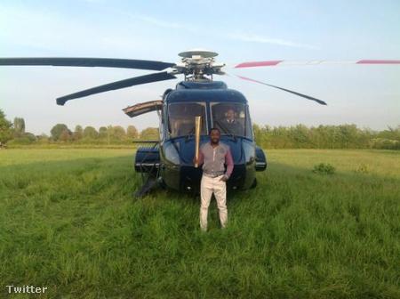 Will.i.am, a helikopter és az olimpiai láng