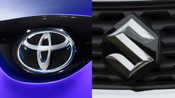 Hivatalos: szövetkezik a Toyota és Suzuki