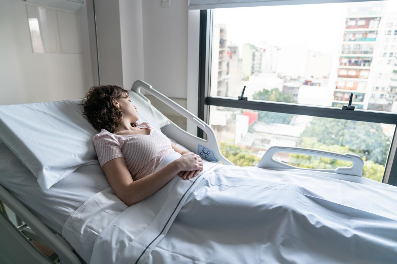 kórházi befekvés