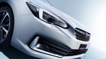 Frissült a Subaru Impreza