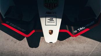 Megmutatták a Porsche Formula–E-autóját