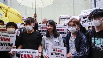 Ellenzéki aktivistákat tartóztattak le Hongkongban