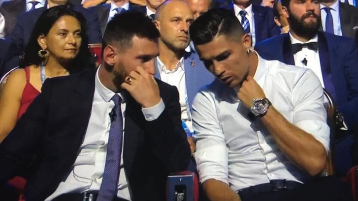 Messi és Cristiano Ronaldo