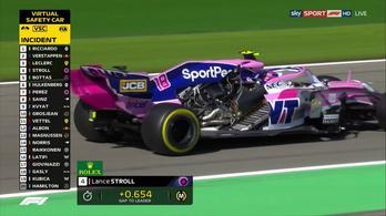 F1-autó félmeztelenül, Spában
