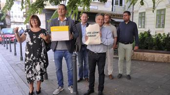 16 200 ajánlást adott le a budapesti ellenzék Karácsony Gergelyre