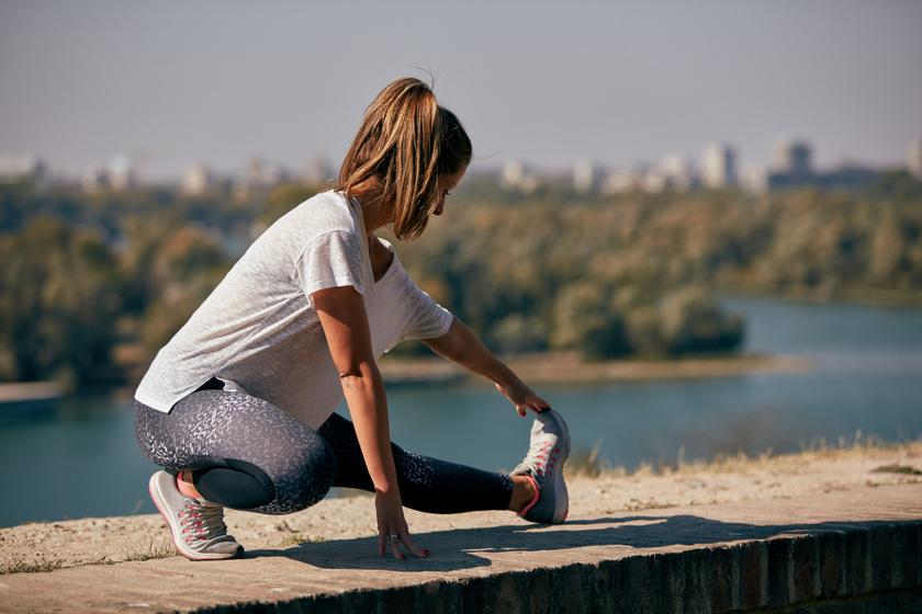 Ne blicceld el ezt a futás utáni nyújtást: épen tartja az izmokat