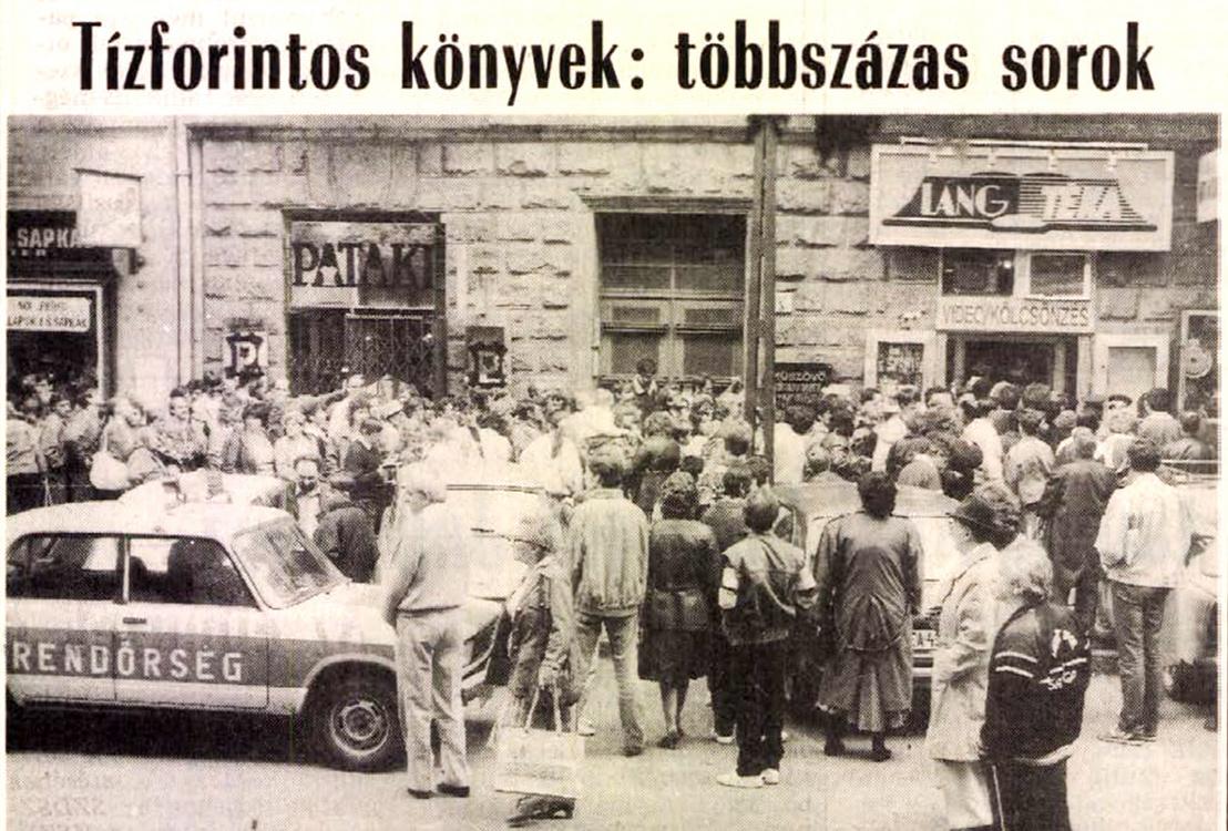 Forrás: Népszabadság 234. szám 1990. október 5. / Arcanum adatbázis