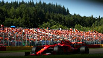 Ferraris első sor a hosszúra nyúlt F1-időmérőn