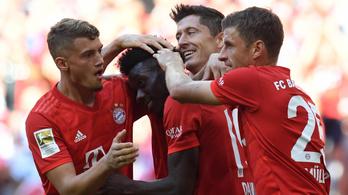 Hatot kapott a Mainz a Bayerntől Szalai visszatérésén