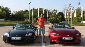 Ti kérdeztétek: Honda vagy Mazda? - MX-5 VS S2000