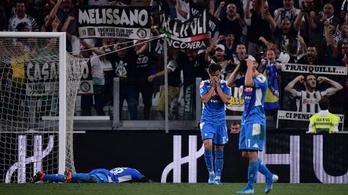 3-0-ról 3-3, döbbenetes győztes öngól a Juve-Napolin