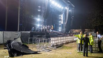 28-an megsérültek, amikor Németországban ledőlt a színpad egy része egy koncerten